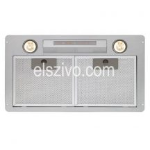 Cata GL-45 X/C LED inox beépíthető páraelszívó