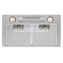 Cata GL-75 X/C LED inox beépíthető páraelszívó