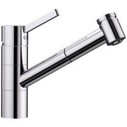 Blanco TIVO-S króm kihúzható HD zuhanyfejes csaptelep