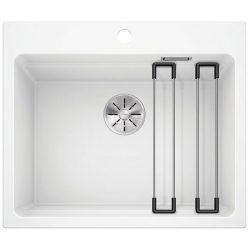 Blanco ETAGON 6 fehér silgránit egymedencés mosogatótál