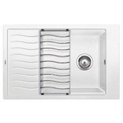 Blanco ELON XL 6S fehér silgránit csepptálcás mosogatótál