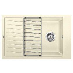 Blanco ELON XL 6S jázmin silgránit csepptálcás mosogatótál