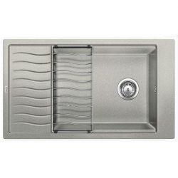 Blanco ELON XL 8S gyöngyszürke silgránit csepptálcás mosogatótál