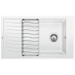 Blanco ELON XL 8S fehér silgránit csepptálcás mosogatótál
