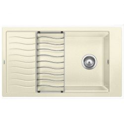Blanco ELON XL 8S jázmin silgránit csepptálcás mosogatótál