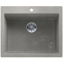 Blanco PLEON 6 beton style silgránit egymedencés mosogatótál