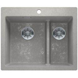 Blanco PLEON 6 Split beton style silgránit egymedencés mosogatótál
