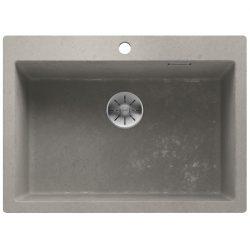Blanco PLEON 8 beton style silgránit egymedencés mosogatótál