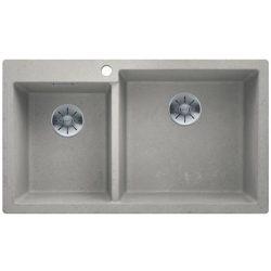 Blanco PLEON 9 beton style silgránit kétmedencés mosogatótál