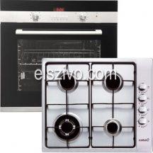 Cata 1B konyhagép szett Cata CDP 780 AS BK sütő + Cata GI 6031 X gázfőzőlap