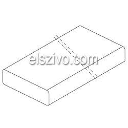 Falmec Lapos csatorna 1200 mm 220x90
