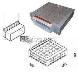 KACL.930 Carbon.Zeo szénszűrő szett