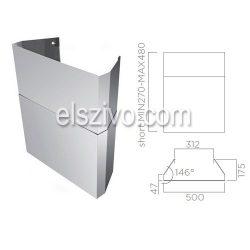 Elica KIT0010704 Kürtőkészlet rövid (H220-270)