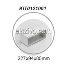 Elica KIT0121001 Lapos csatorna toldó (227x94)