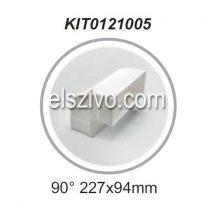 Elica KIT0121005 Lapos csatorna 90 fokos sarok függőleges (227x94)