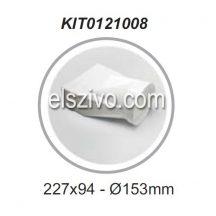 Elica KIT0121008 Cső-Lapos csatorna átalakító vízszintes (227x94)