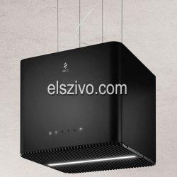 Elica PIX BL/F/42 fekete függesztett design páraelszívó