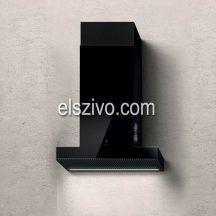 Elica HAIKU BL/A/60 fekete design páraelszívó