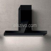 Elica HAIKU BL/A/120 fekete design páraelszívó