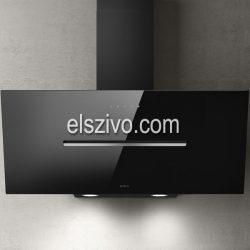 Elica SHY-S BL/A/90fekete design páraelszívó