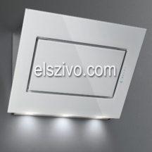 Falmec QUASAR EVO GLASS 80 fehér fali páraelszívó