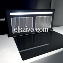 Sirius S-DD12 EM TC SEM1 külső motorosfekete pultba építhető páraelszívó