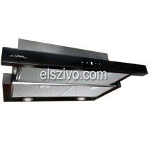 Airmec SLIM VETRO PLUS 90 fekete kihúzható páraelszívó