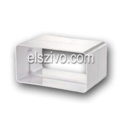 Gonal TP-1020 Lapos cső csatlakozó/toldó 125mm-es (55x220)